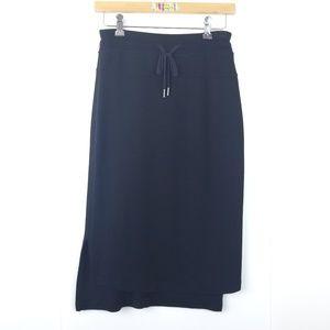 Athleta {Split side Hi-Lo Drawstring Skirt} XS